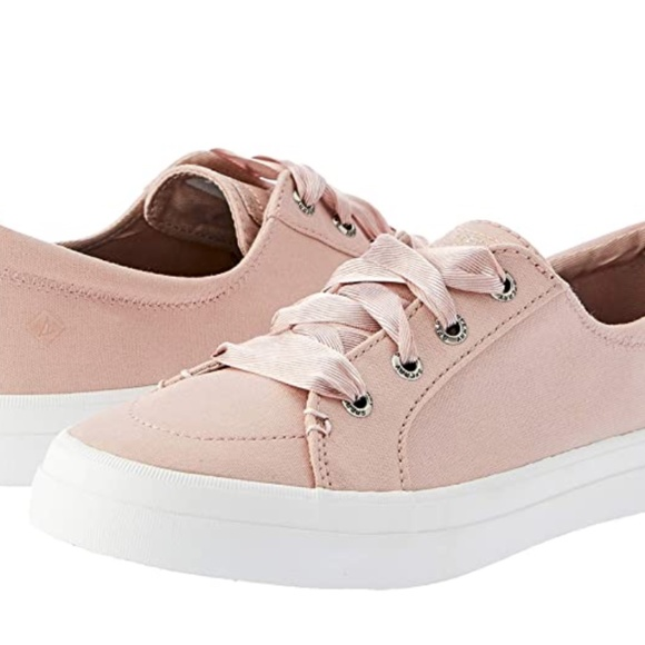 Sperry Shoes | Pink Sneakers | Poshmark